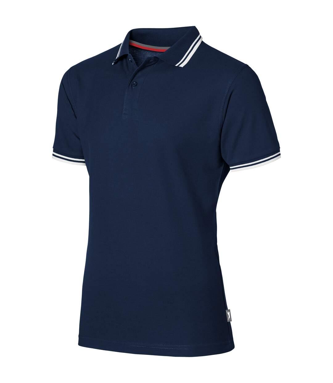 Slazenger Mens Deuce Short Sleeve Polo (Pack of 2) (Navy) - UTPF2500