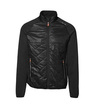 ID Mens Cool Down Lightlined Jacket (Black) - UTID374