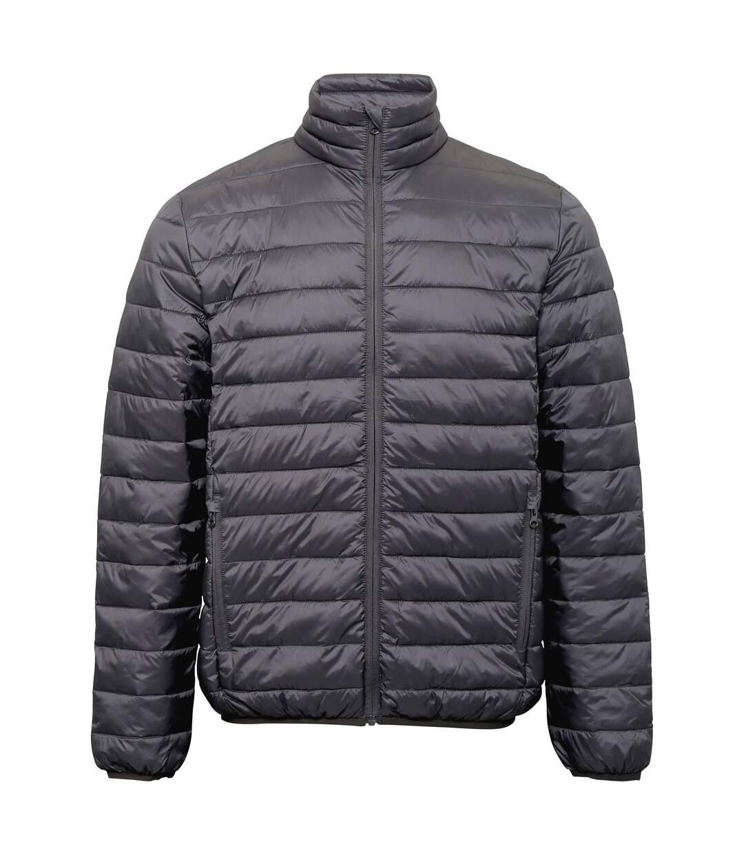 2786 Mens Terrain Long Sleeves Padded Jacket (Steel) - UTRW6282