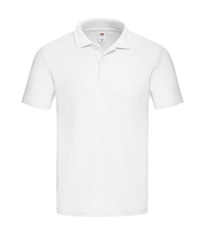 Fruit Of The Loom - Polo manches courtes - Homme (Blanc) - UTRW7879