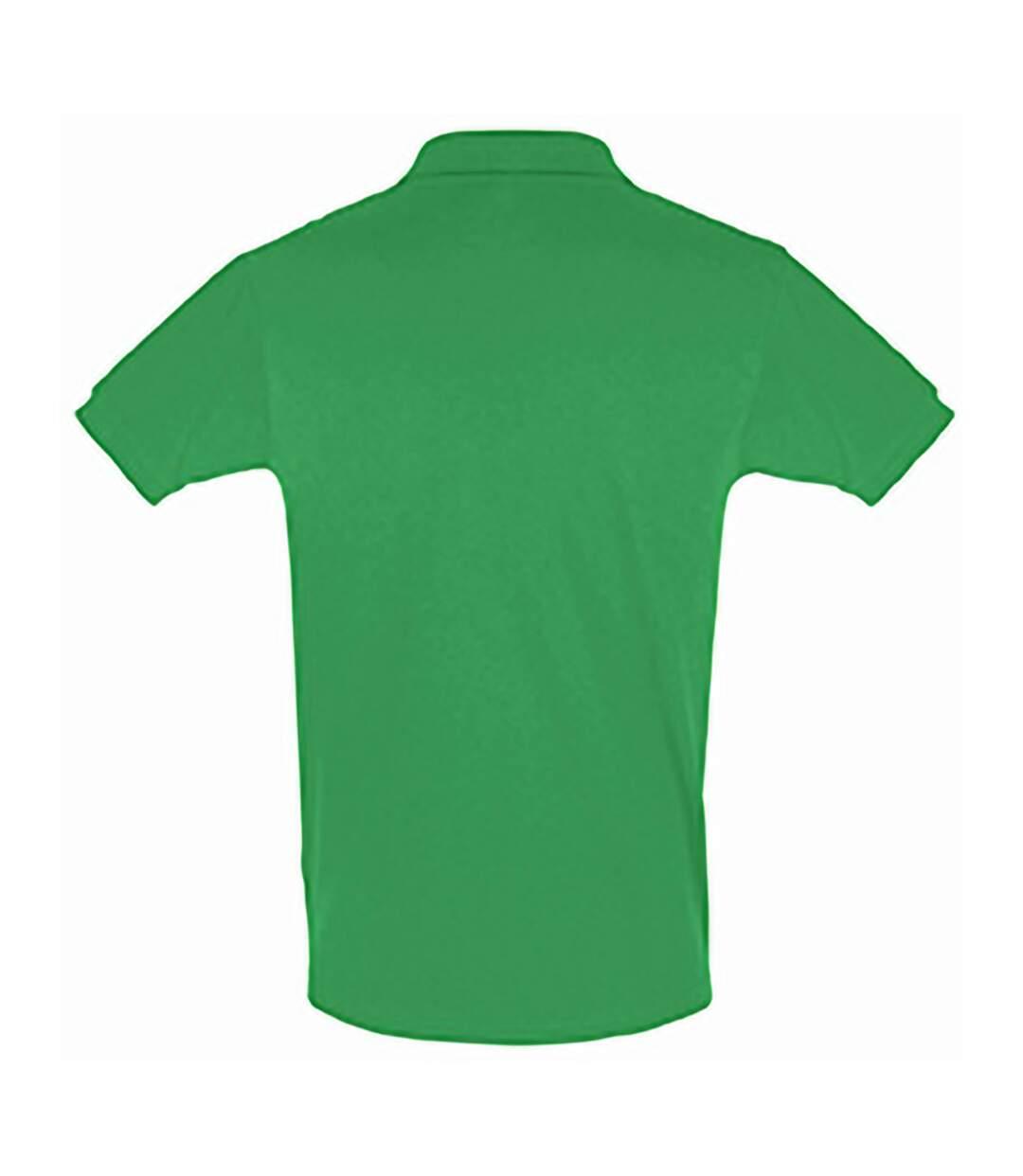 SOLS Mens Perfect Pique Short Sleeve Polo Shirt (Apple Green) - UTPC283