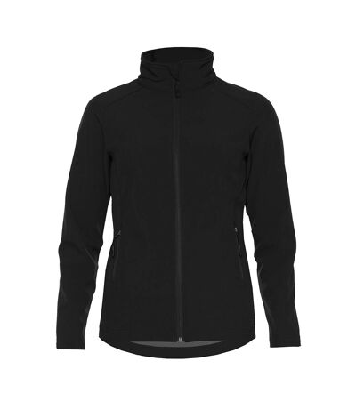 Gildan Womens/Ladies Hammer Soft Shell Jacket (Black) - UTPC3904