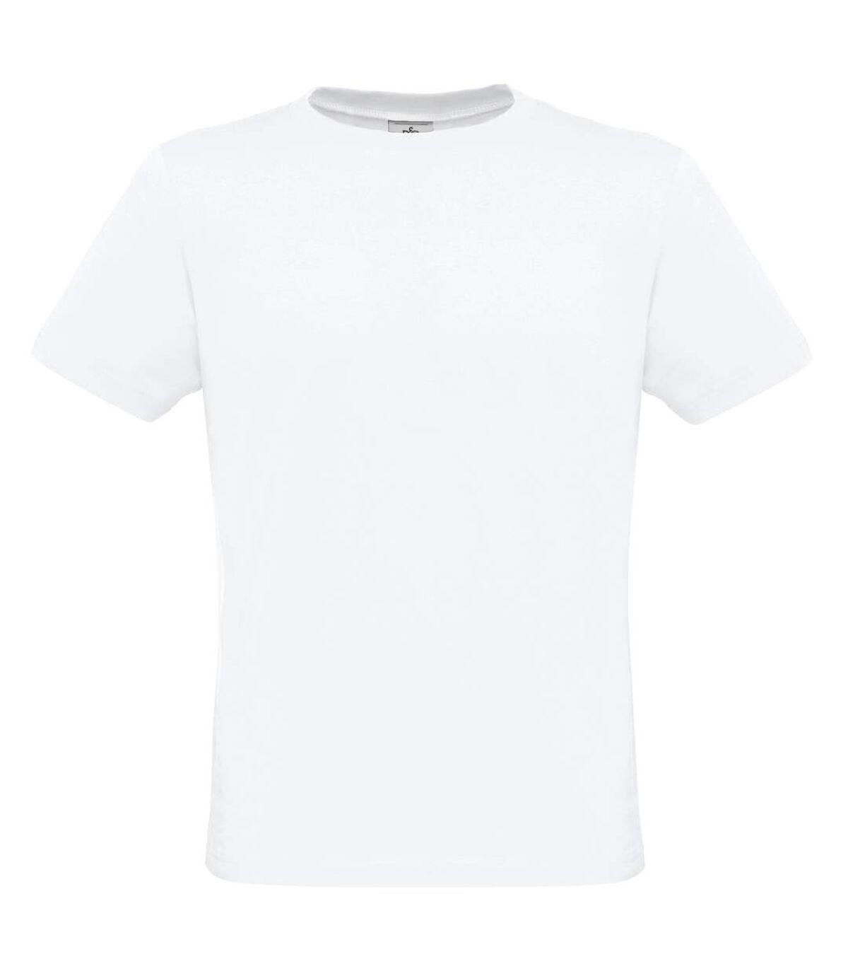 B&C Mens Crew Neck Short Sleeve T-Shirt (White) - UTRW3013
