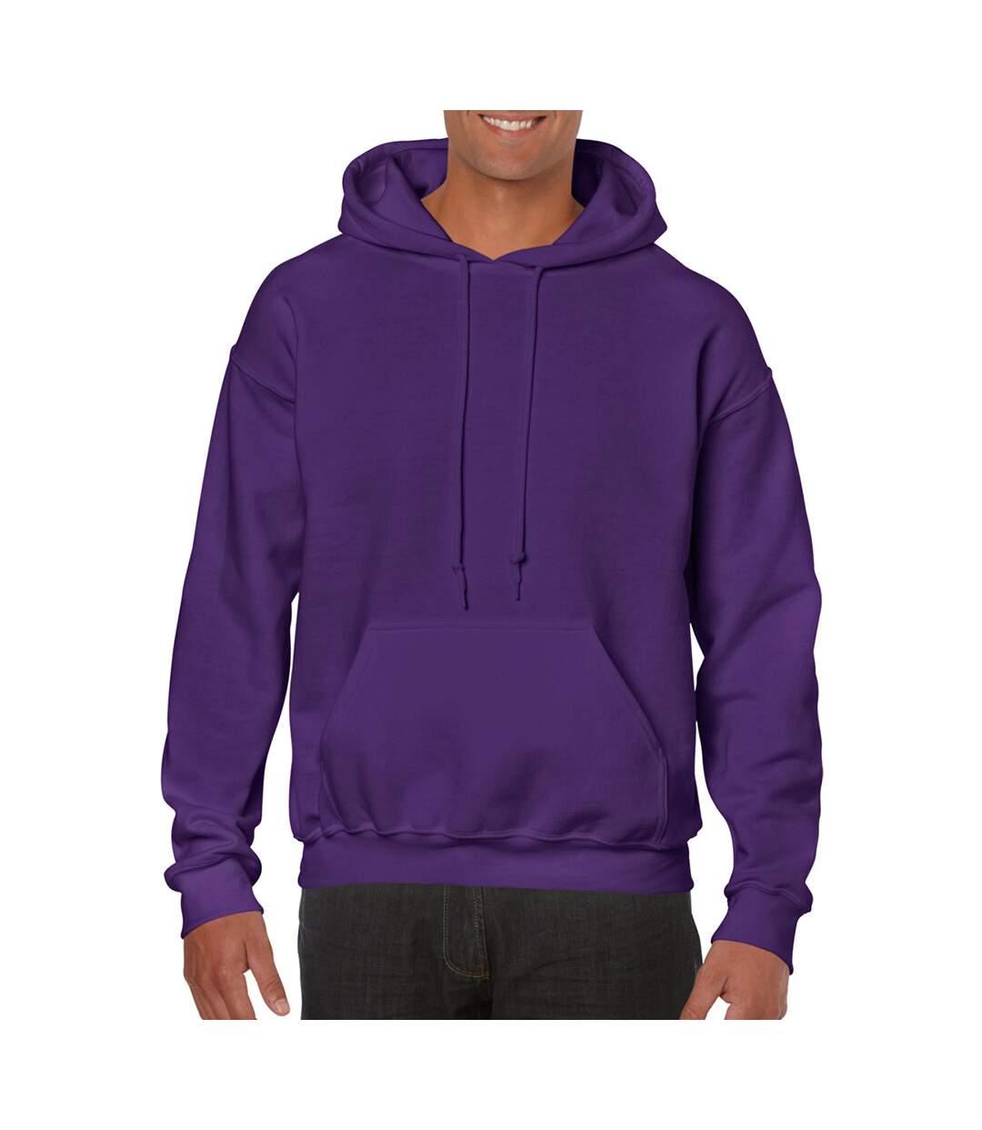 Gildan Heavy Blend Adult Unisex Hooded Sweatshirt / Hoodie (Safety Orange) - UTBC468