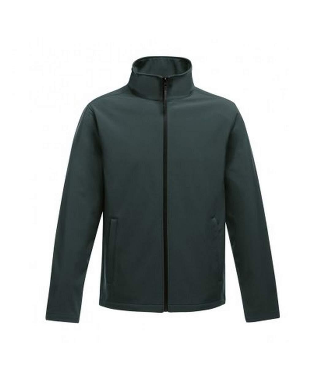 Regatta Standout Mens Ablaze Printable Soft Shell Jacket (Dark Spruce/Black) - UTPC3322