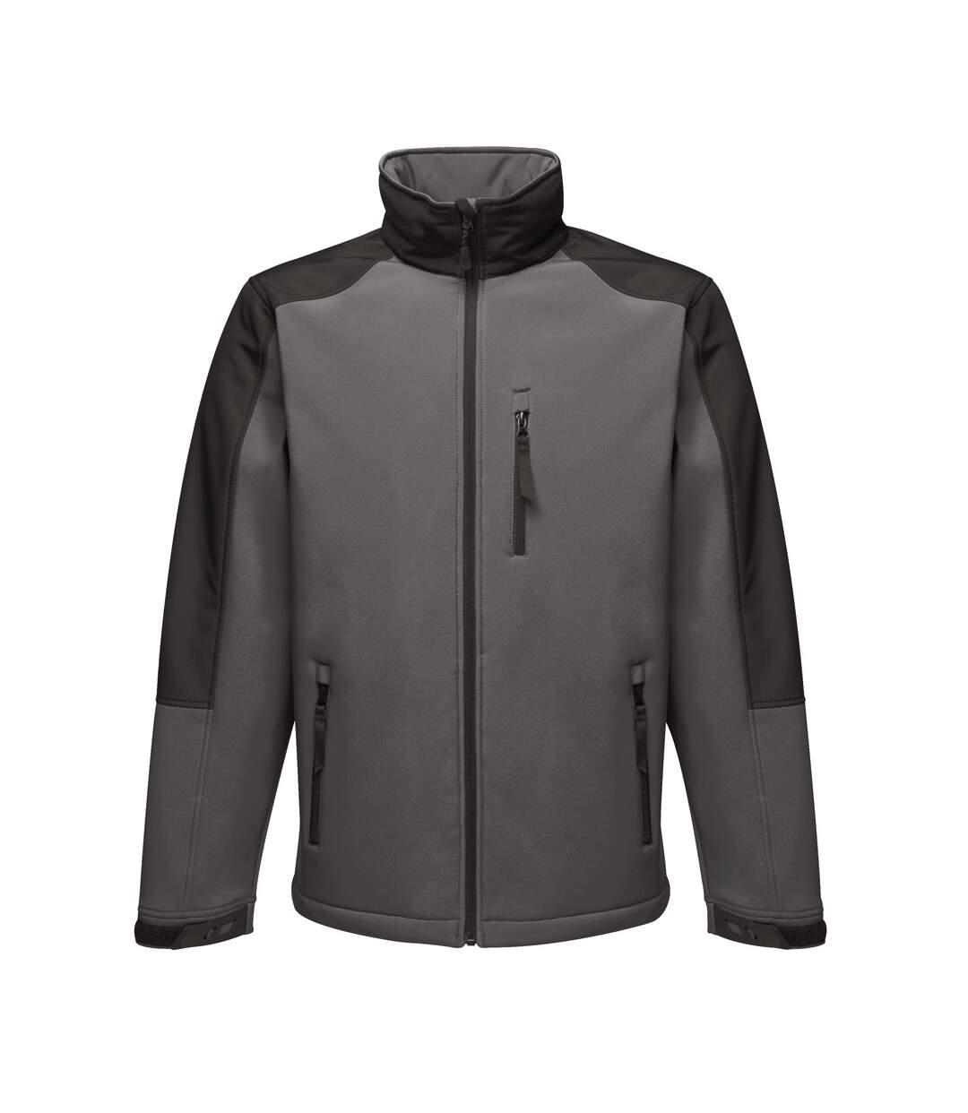 Regatta Mens Hydroforce 3-layer Membrane Waterproof Breathable Softshell Jackets (Oxford Blue) - UTRG1629