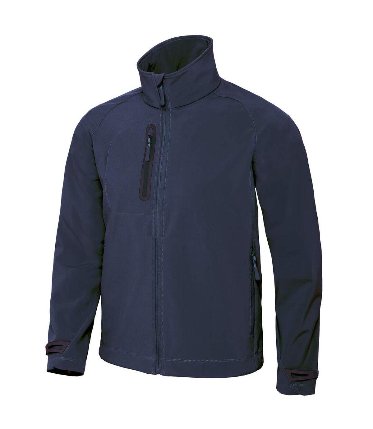 B&C Mens X-Lite 3 Layer Softshell Performance Jacket (Navy) - UTRW3036