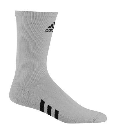 Adidas Mens Golf Crew Socks (Pack Of 3) (Grey) - UTRW6194