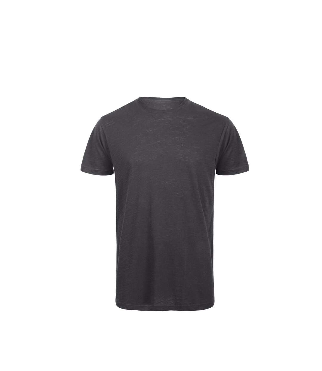 B&C Mens Favourite Organic Cotton Slub T-Shirt (Chic Anthracite) - UTBC3637