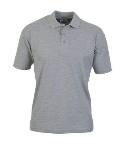 Casual Classic Mens Pique Polo (Sport Grey) - UTAB252