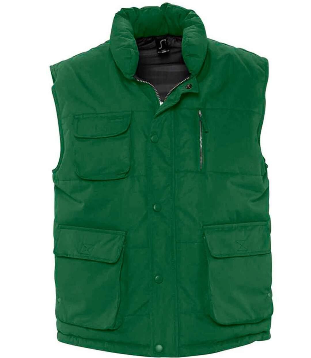 Blouson sans manches unisexe - Bodywarmer - 59000 - vert sapin
