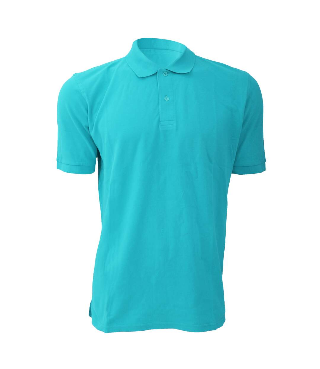 Russell Mens 100% Cotton Short Sleeve Polo Shirt (Black) - UTBC567