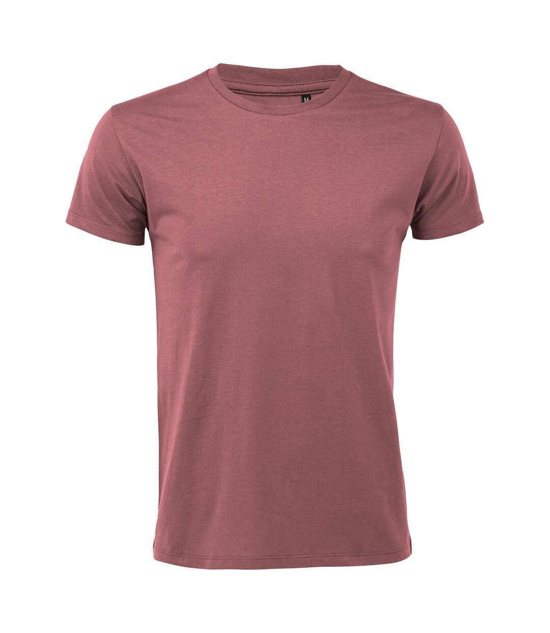 SOLS Mens Regent Slim Fit Short Sleeve T-Shirt (Ancient Pink) - UTPC506