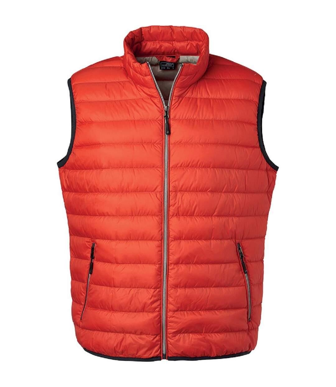 Bodywarmer duvet - JN1138 - orange - Homme