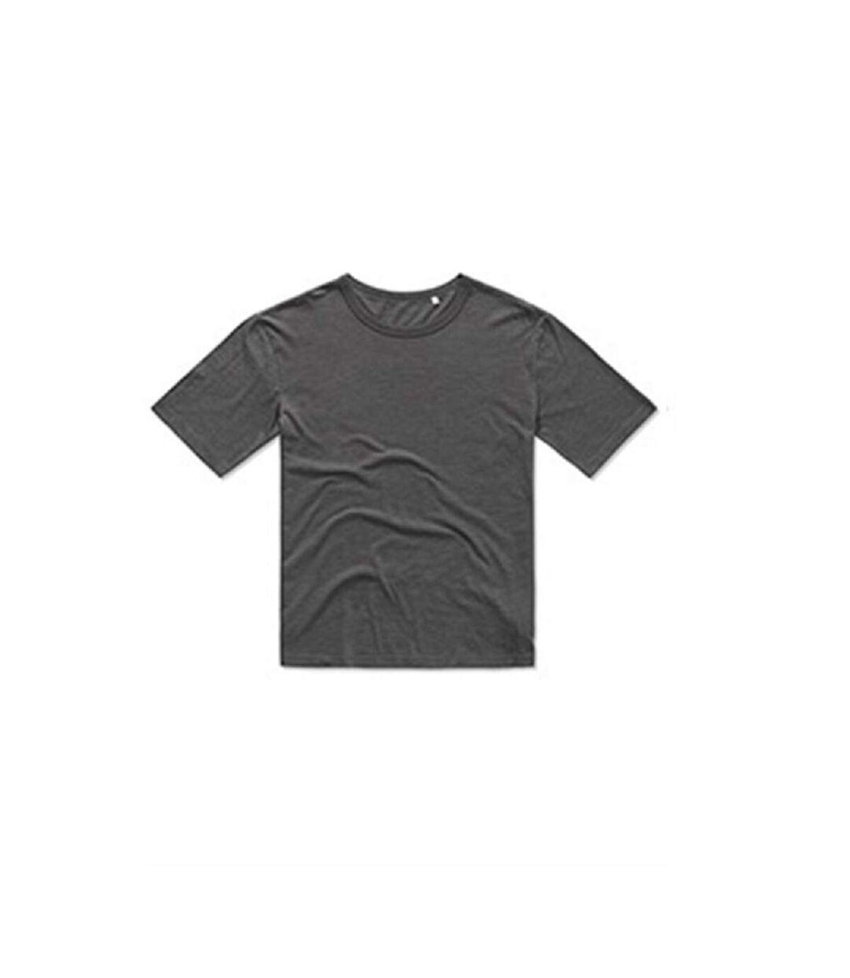 Stedman Mens Organic Slub T-Shirt (Slate Grey) - UTAB368
