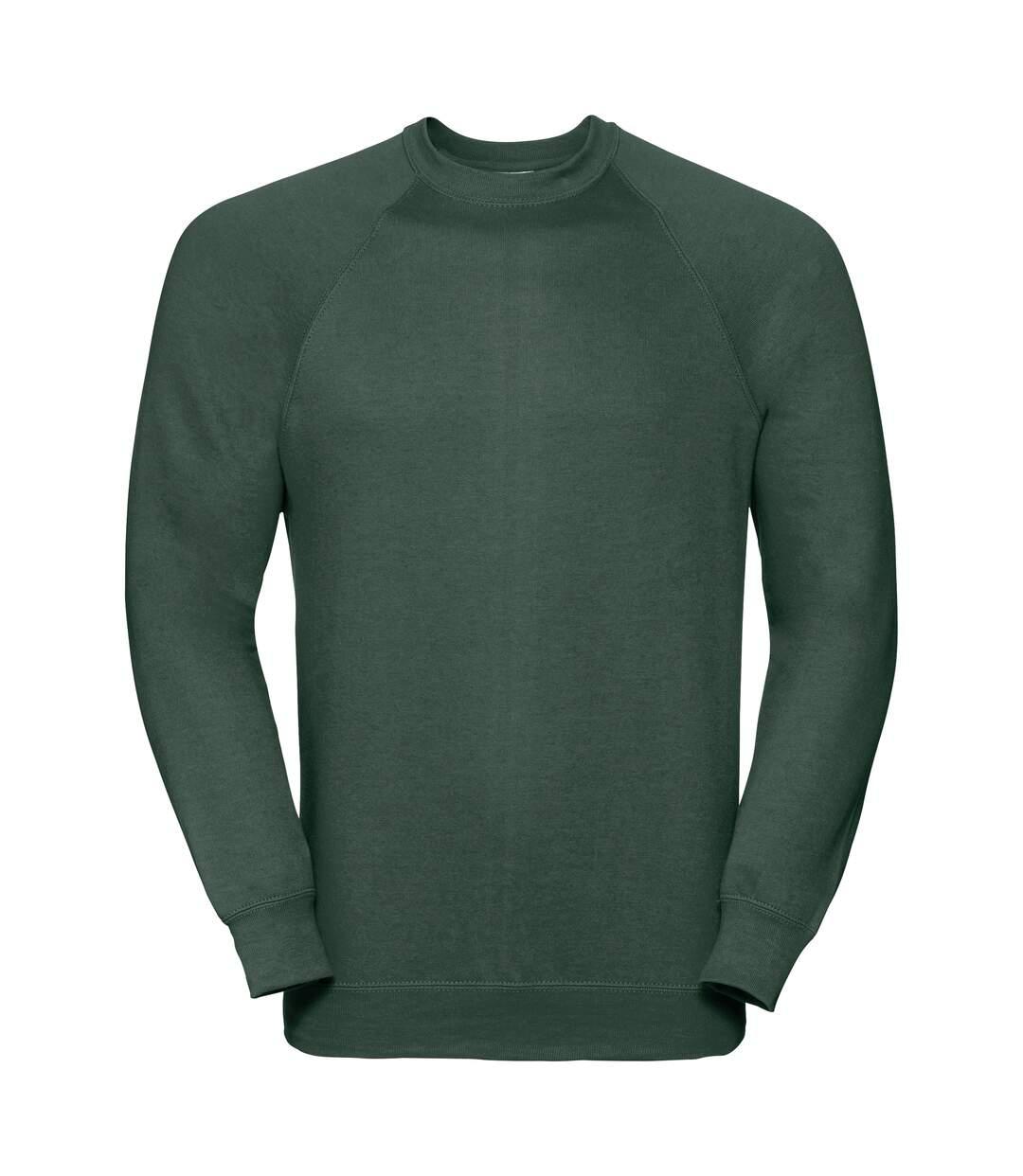 Russell Classic Sweatshirt (Bottle Green) - UTBC573