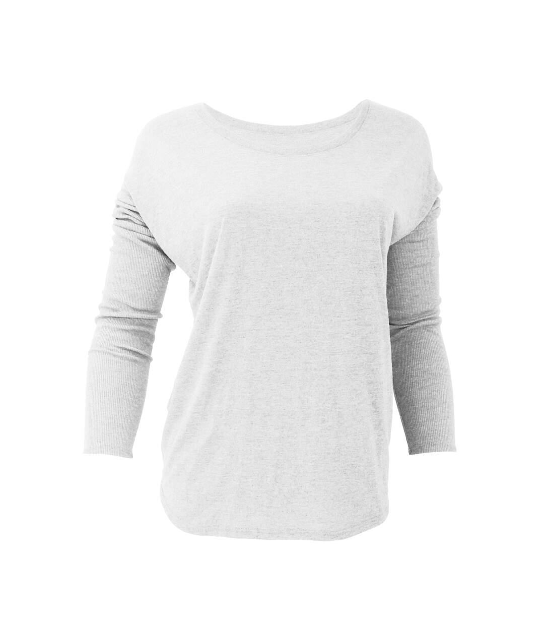 Bella Flowy - T-Shirt À Manches Longues - Femme (Blanc) - UTBC1328
