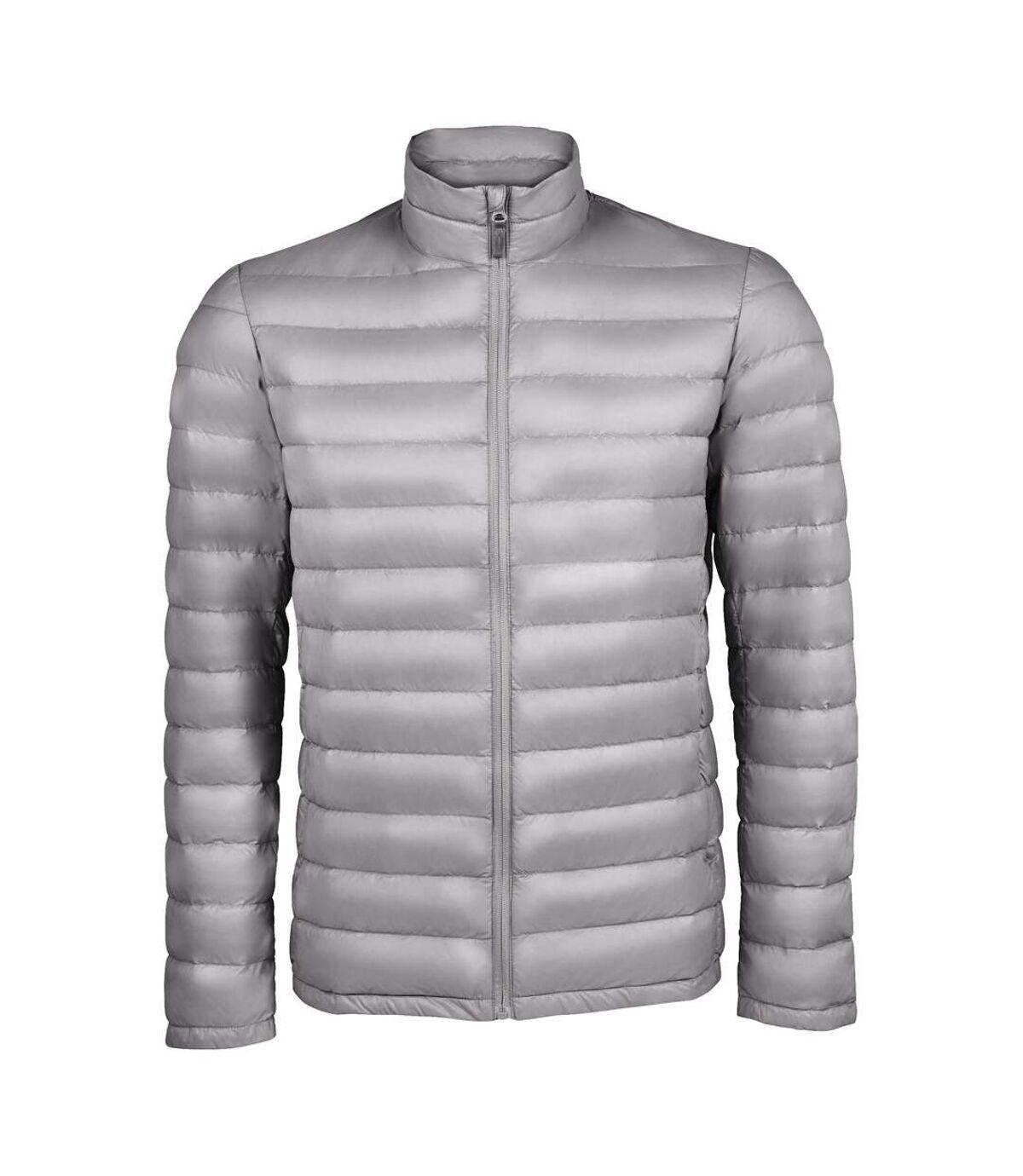 SOLS Mens Wilson Lightweight Padded Jacket (Metal Grey) - UTPC3316