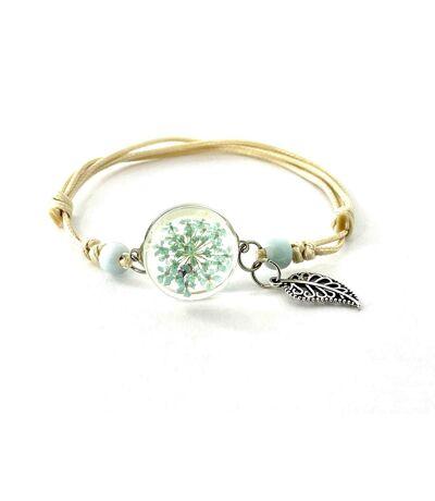 Bracelet bohème vert