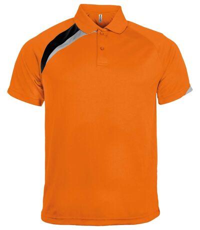 Polo unisexe - PA457 - orange - manches courtes