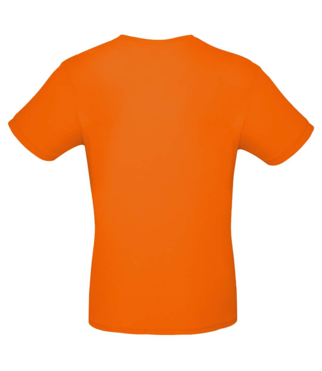B&C Mens #E150 Tee (Fire Red) - UTBC3910