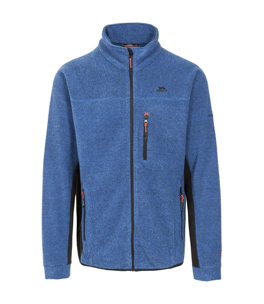 Trespass Mens Jynx Full Zip Fleece Jacket (Blue) - UTTP256