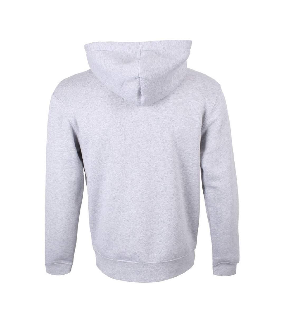 Grindstore Mens Gothic Pride Hoodie (Grey) - UTGR4527