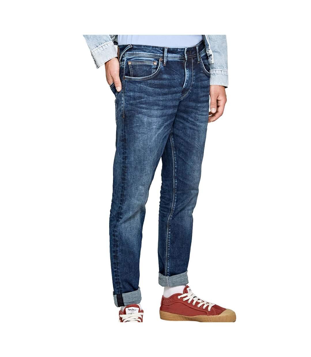 Jeans Regular Bleu Homme Pepe Jeans Stanley