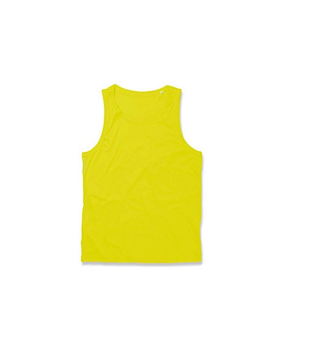 Stedman Mens Active Poly Sports Vest (Cyber Yellow) - UTAB333