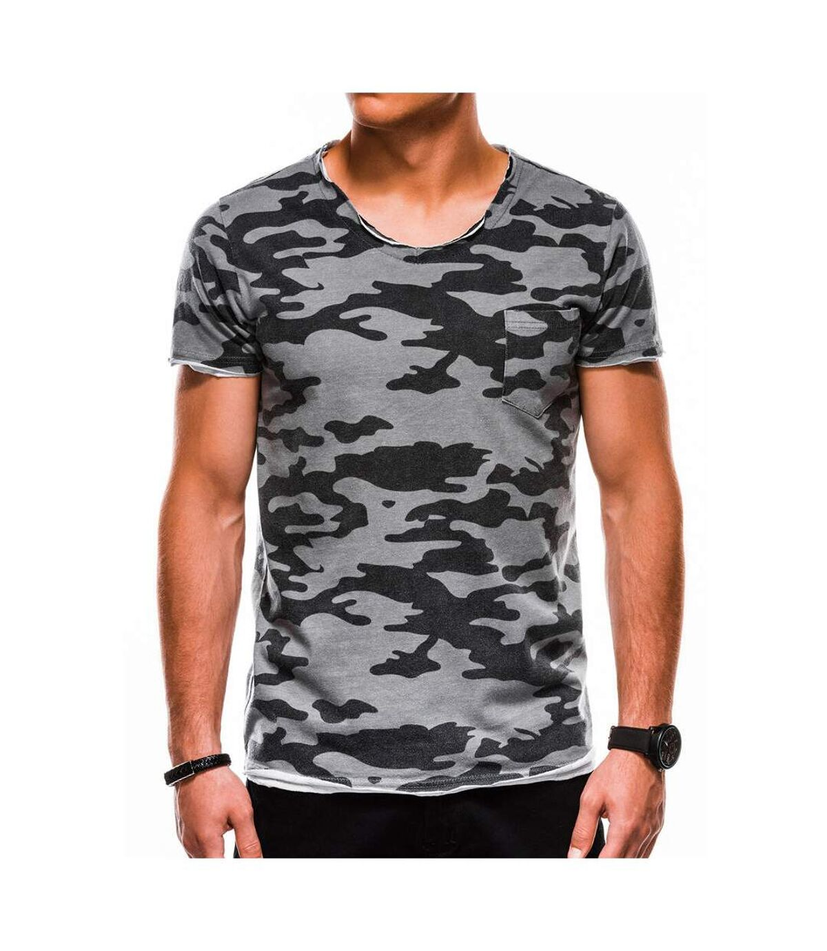 T-shirt camouflage homme T-shirt 1050 gris
