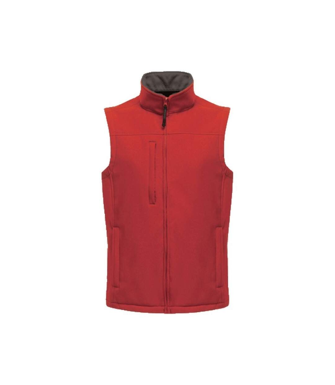 Regatta Mens Flux Softshell Bodywarmer / Sleeveless Jacket Water Repellent And Wind Resistant (Classic Red) - UTRG1493