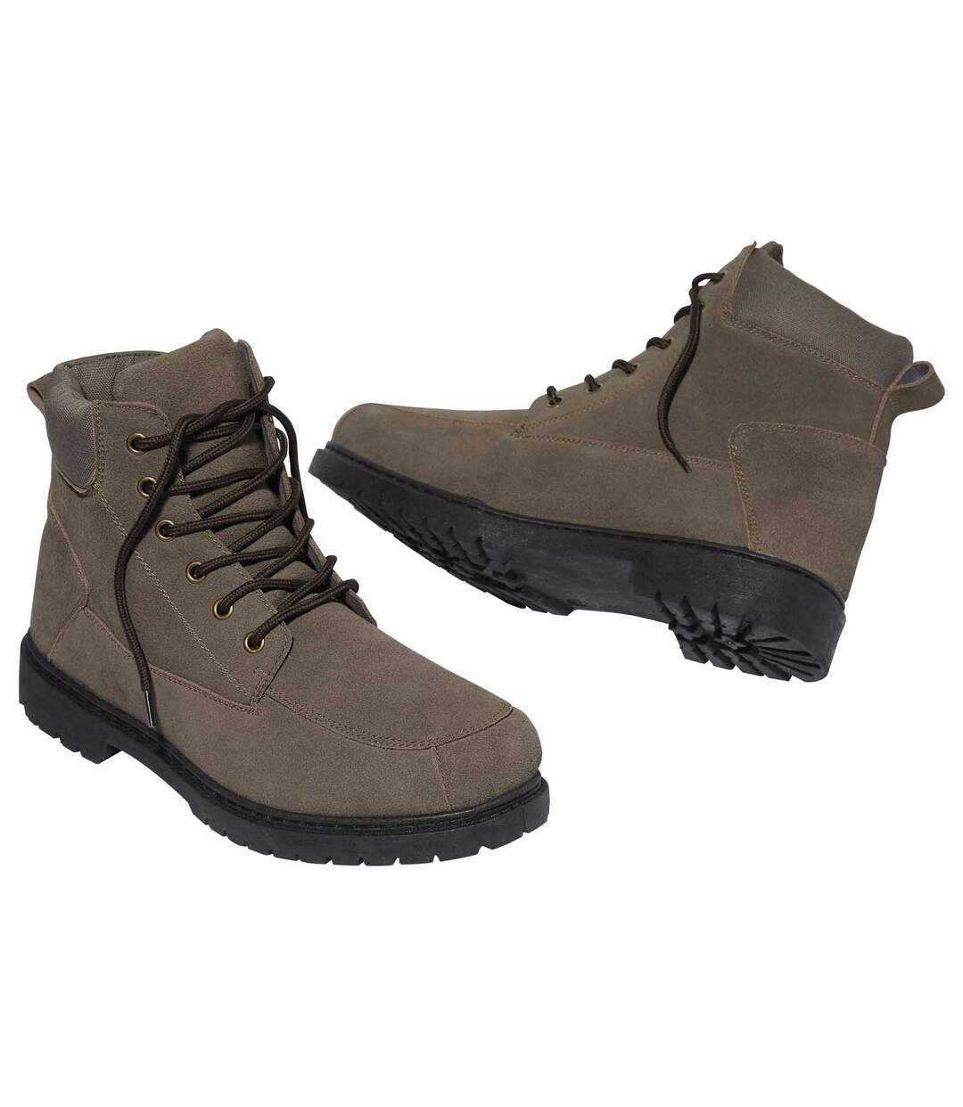 Men's Brown Outdoor Ankle Boots
