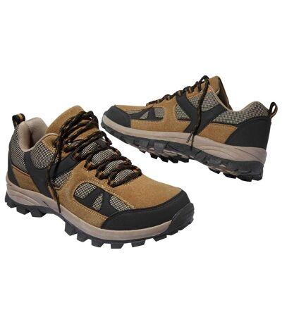Men's All-Terrain Shoes - Black Camel