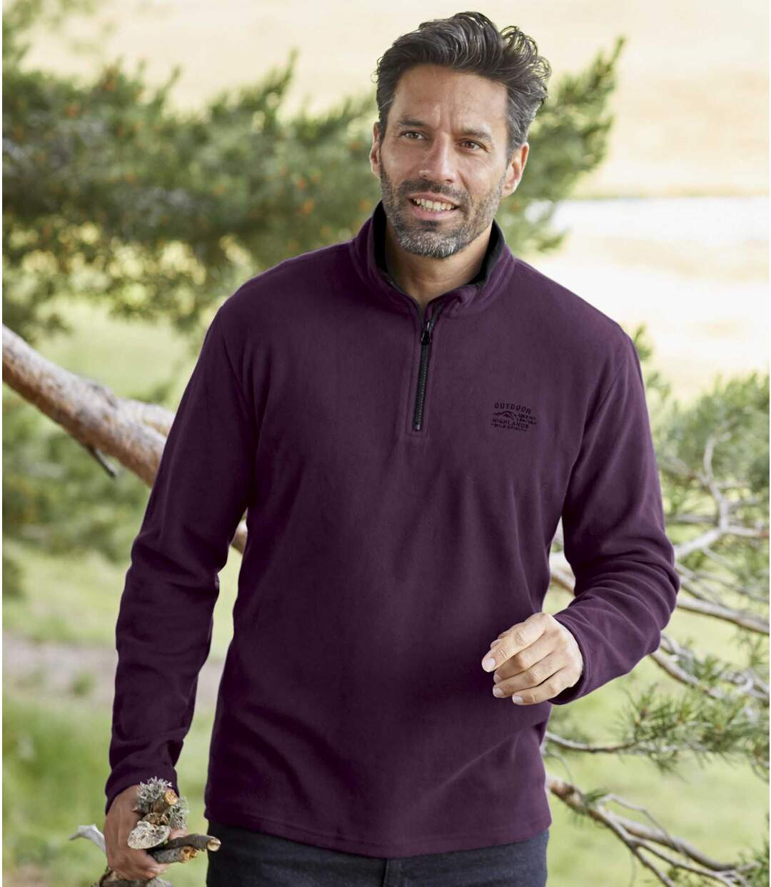 2er-Pack Pullover Mountain aus Microfleece