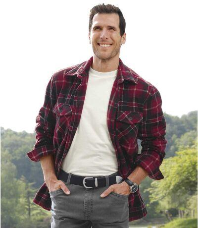 Fleece overhemd Mountain Passion