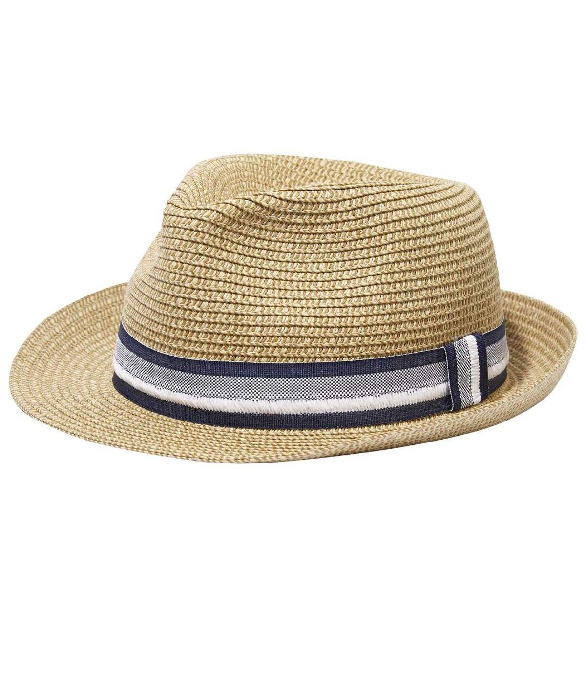 Men's Beige Trilby Hat Atlas For Men