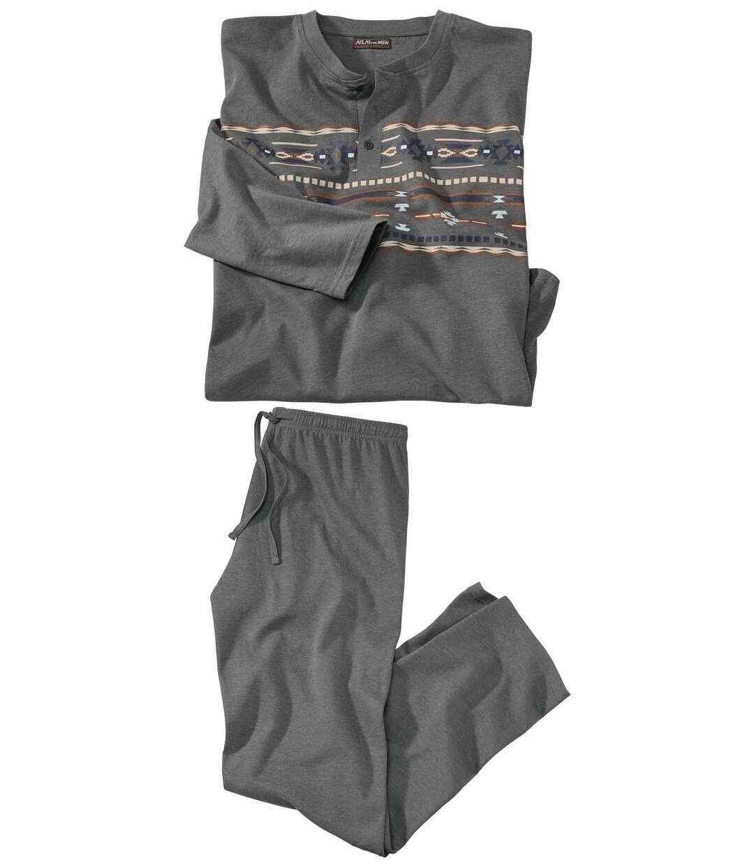 Men's Grey Feel Good Pyjamas