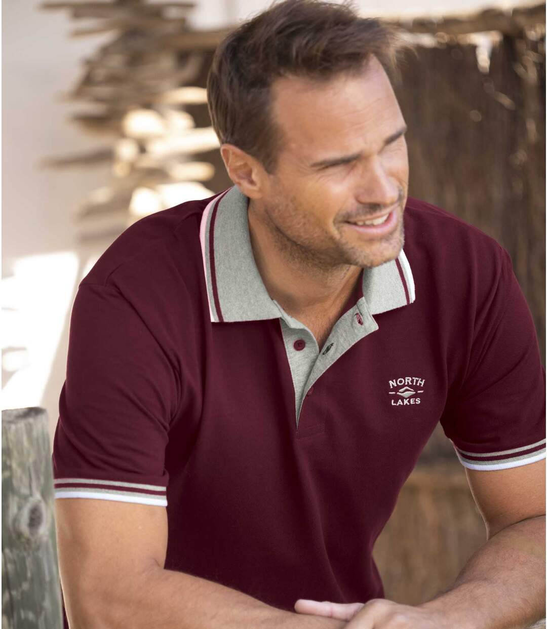 2er-Pack Poloshirts North Lakes