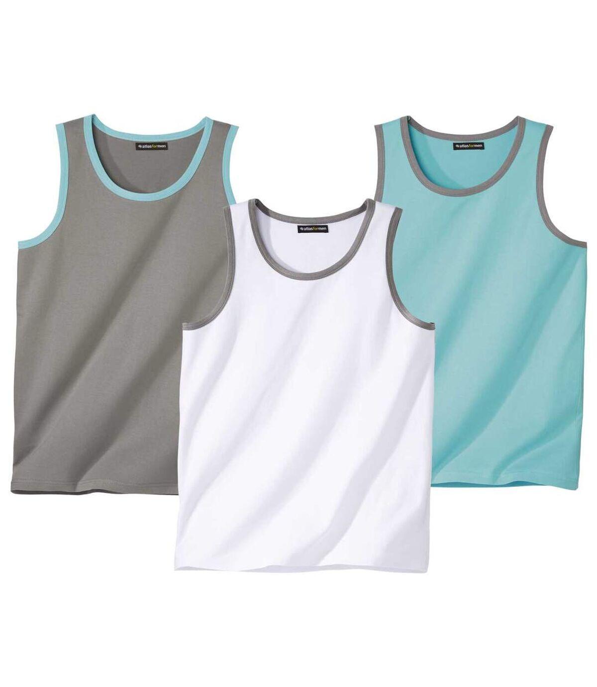 Set van 3 mouwloze shirts Summer Moove Atlas For Men