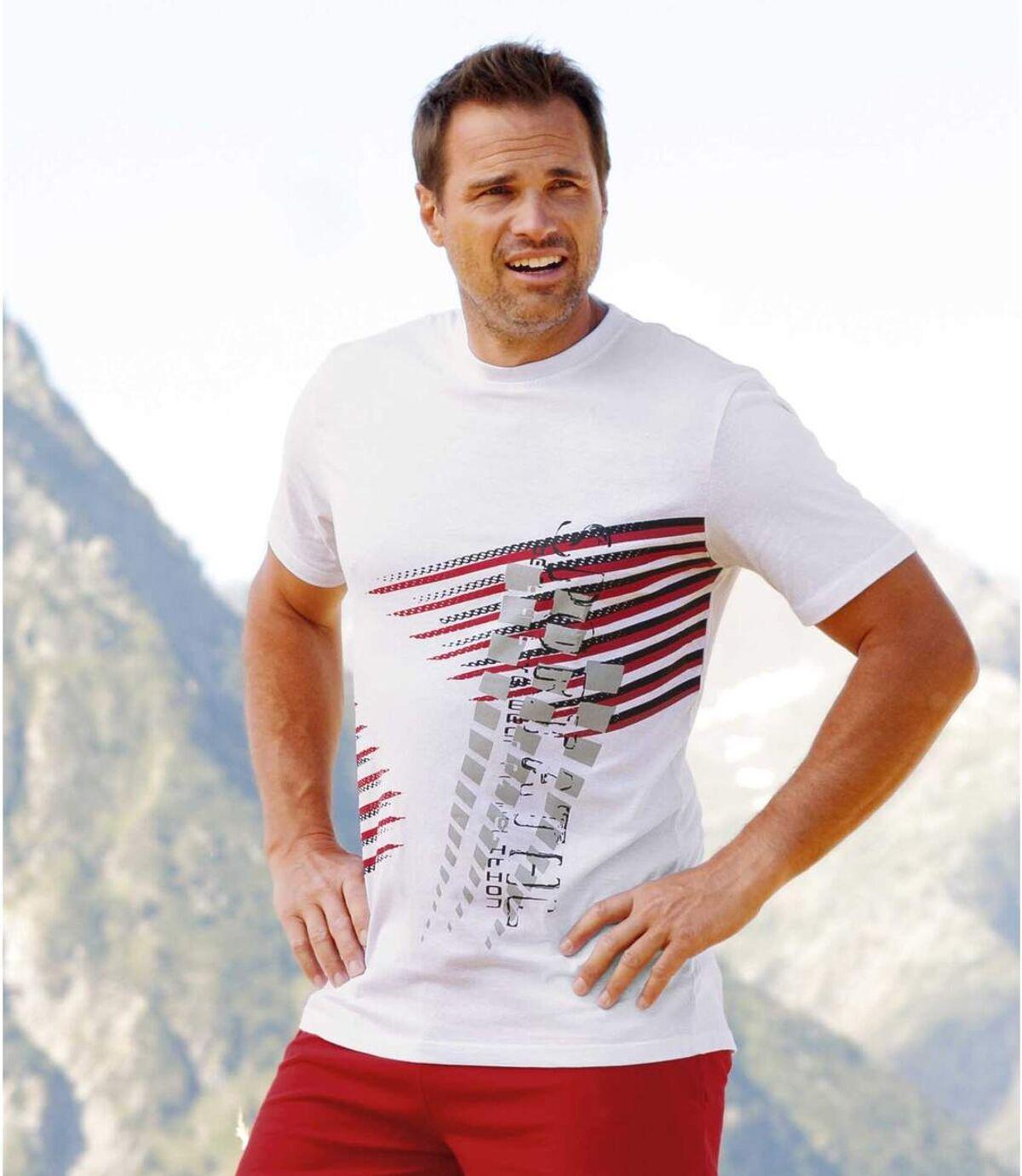 Súprava 3 tričiek Graphic Atlas For Men