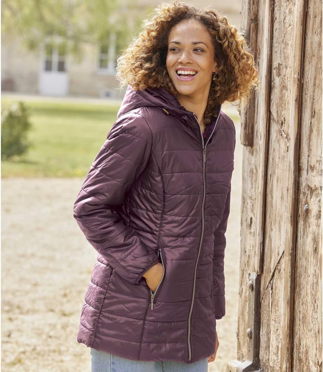 Women's Longline Padded Jacket Atlas For Men