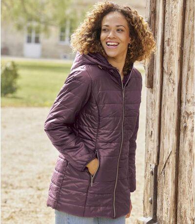 Women's Longline Padded Jacket