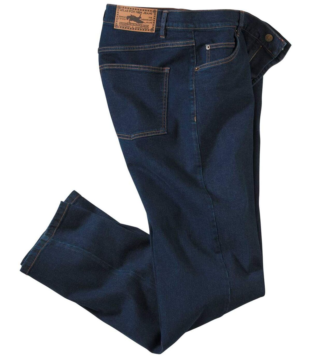Men's Blue Stretch Denim Jeans  Atlas For Men