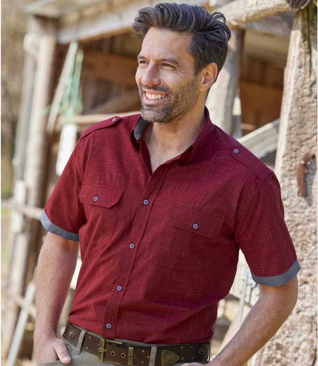 Koszula w kratę Adventure Atlas For Men