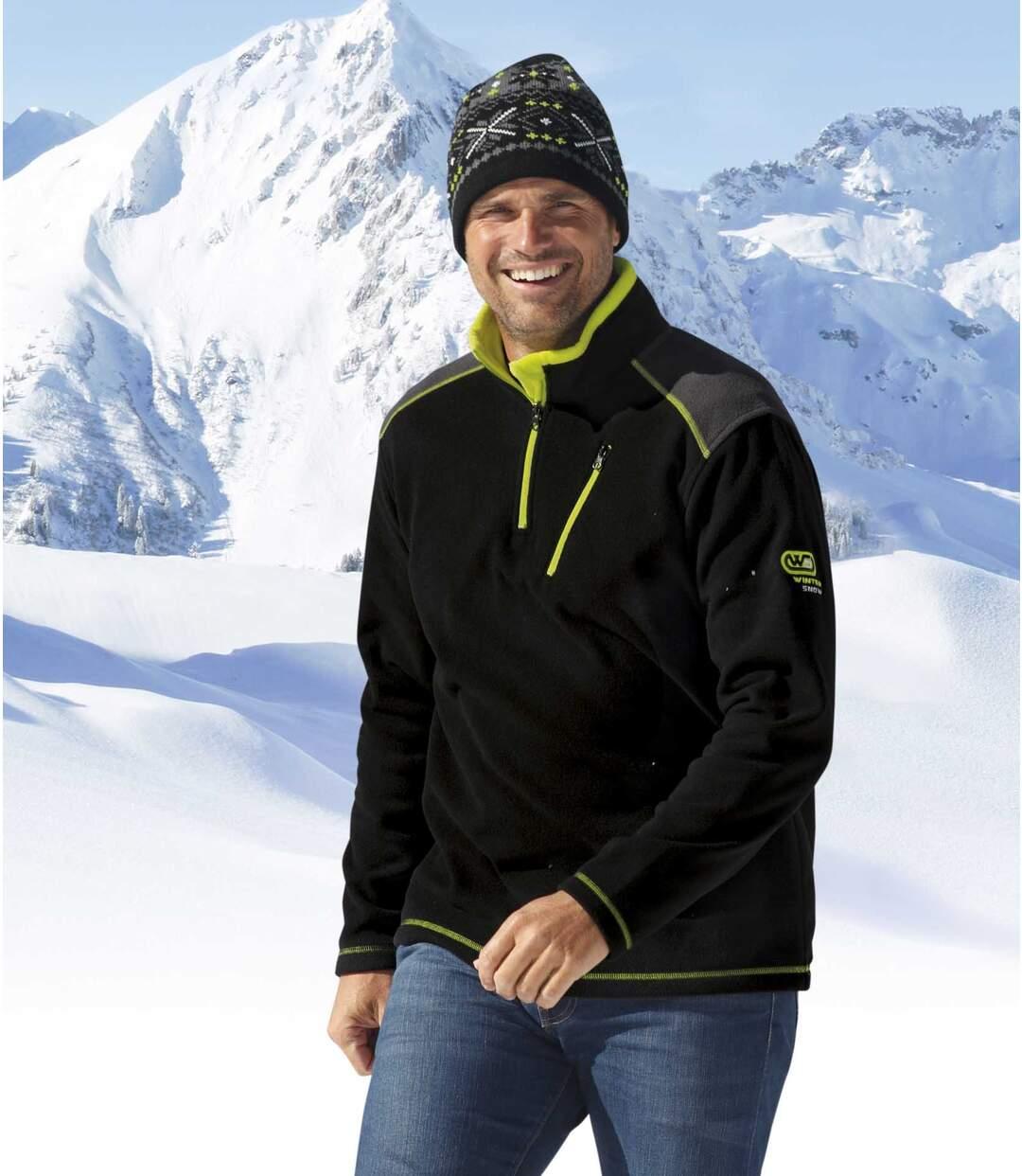 Fleecepullover Wintersport
