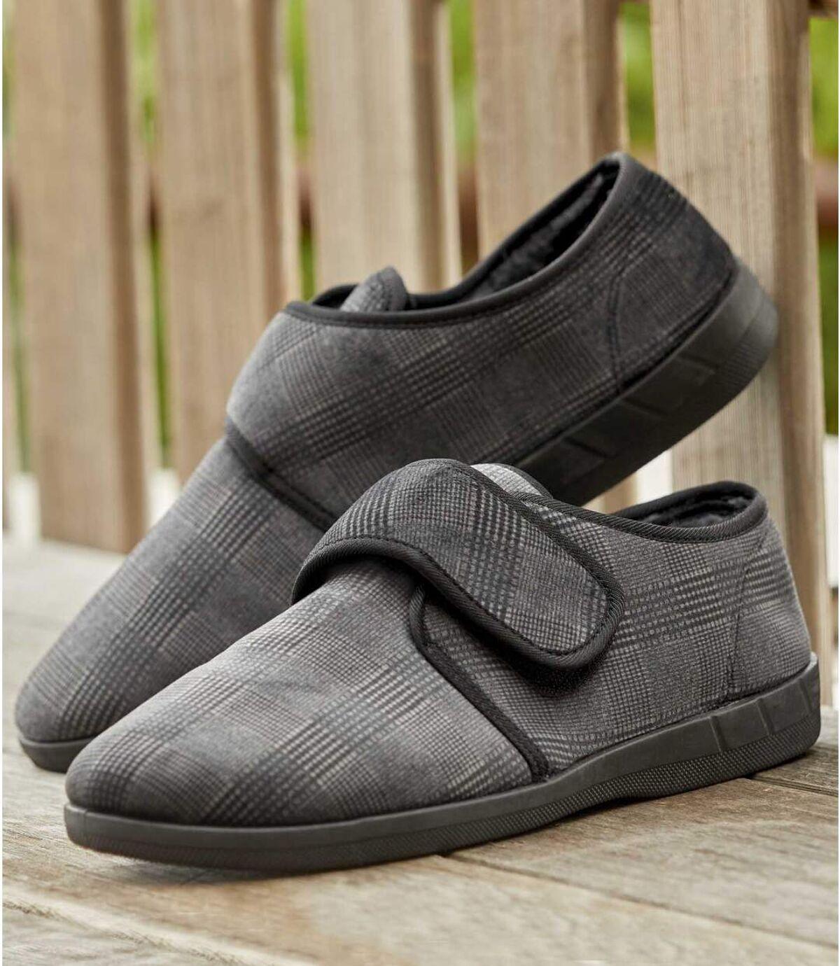 Kožušinové papuče na suchý zips Atlas For Men