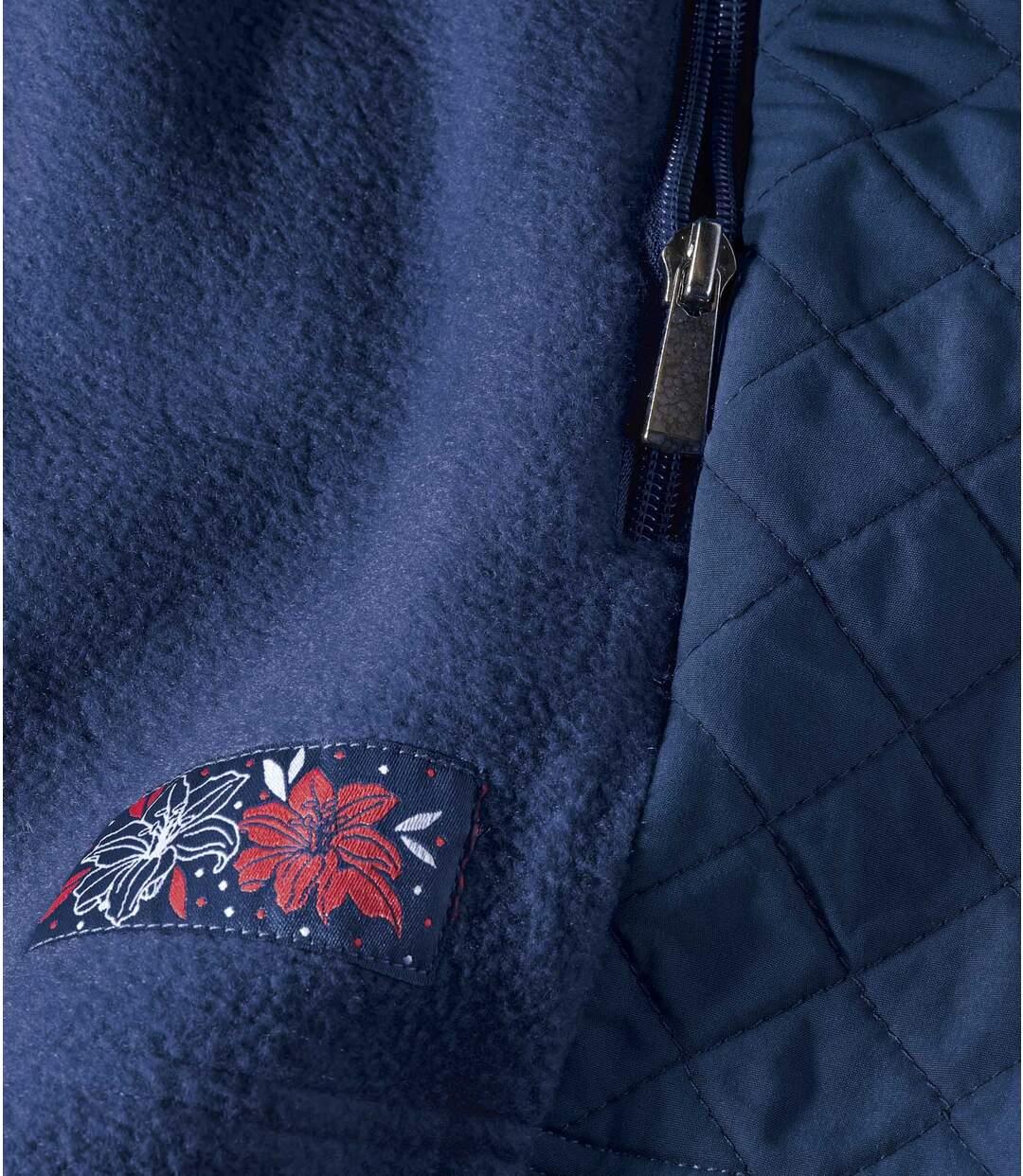 Polarowa bluza ze wstawkami Atlas For Men