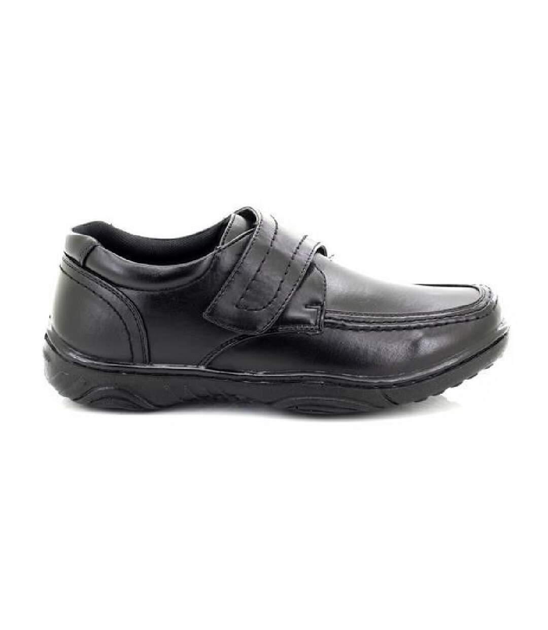 Grande Vente Smart Uns Chaussures Décontractées À Fermeture À Scratch Homme Noir UTDF138 dsf.d455nksdKLFHG