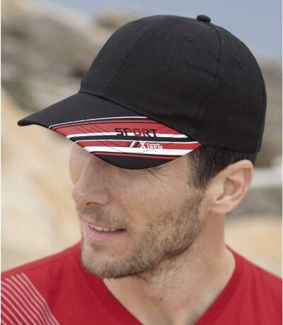 Men's Xtrem Sport Canvas Cap - Black