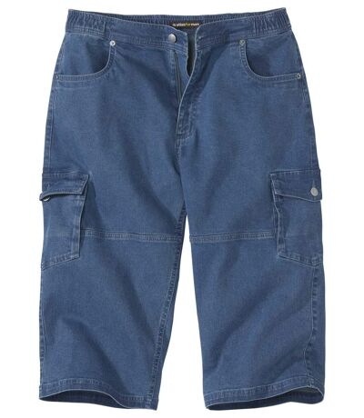 3/4-Cargo-Jeans Stretch Komfort